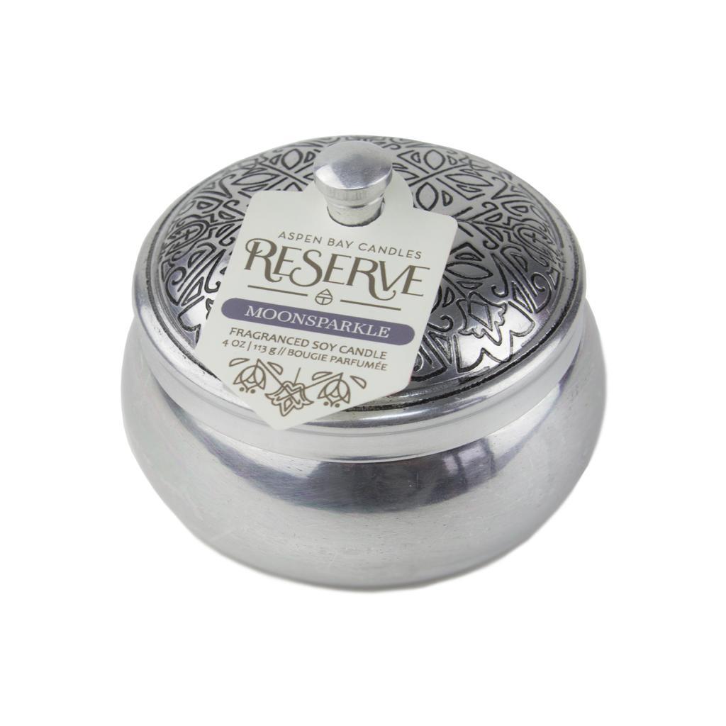 Reserve Doftljus Silver Tin