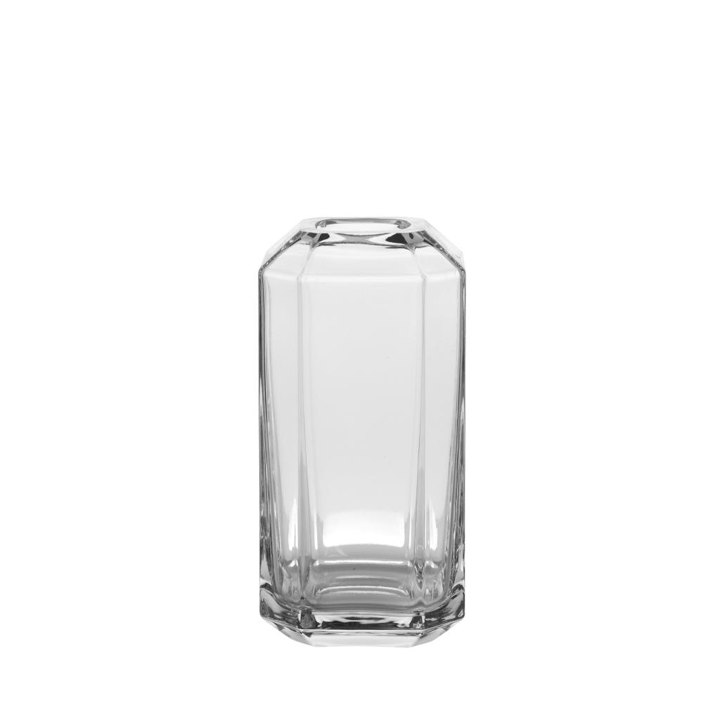 Louise Roe Diamond Vase Clear