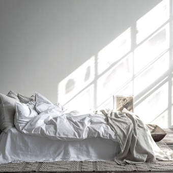 Tell Me More Duvet Cover Cotton Frost