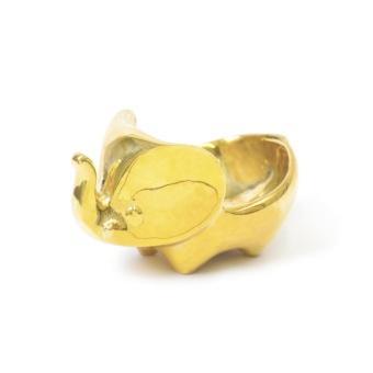Jonathan Adler Brass Elephant Bowl