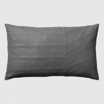 AYTM Kudde Coria Leather Dark Grey