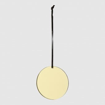 AYTM Spegel Ornament Gold/Slate