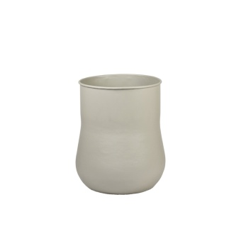 Tell Me More Short Neck Vase Sand