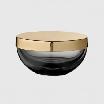 AYTM Glasburk Tota Round Black/Brass