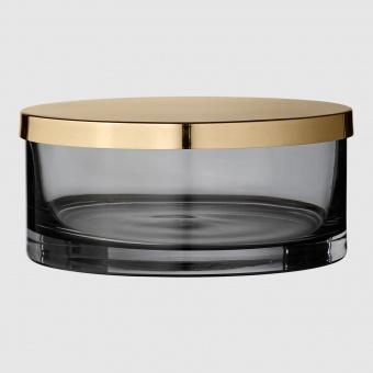AYTM Glasburk Tota Black/Brass Large