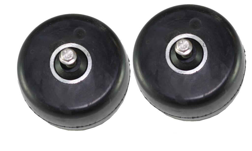 AE Framhjul Extra trögt - 2 pack