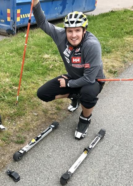 Alex Köll testar olika rullskidor