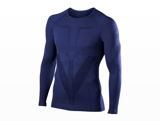 Falke - Warm Longsleeved Shirt Tight Men - Dark Night