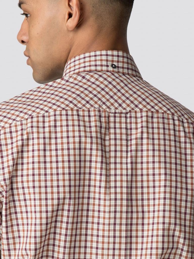 House check shirt port