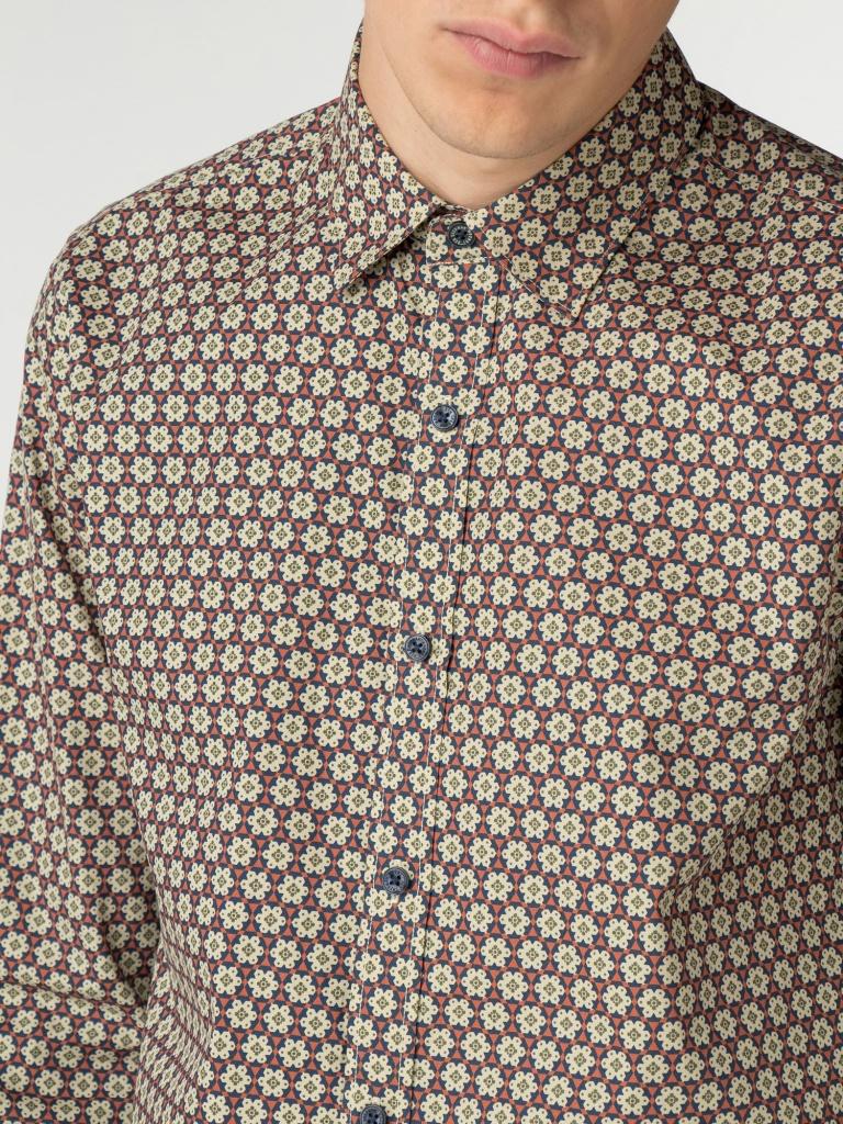 Wallpaper print shirt