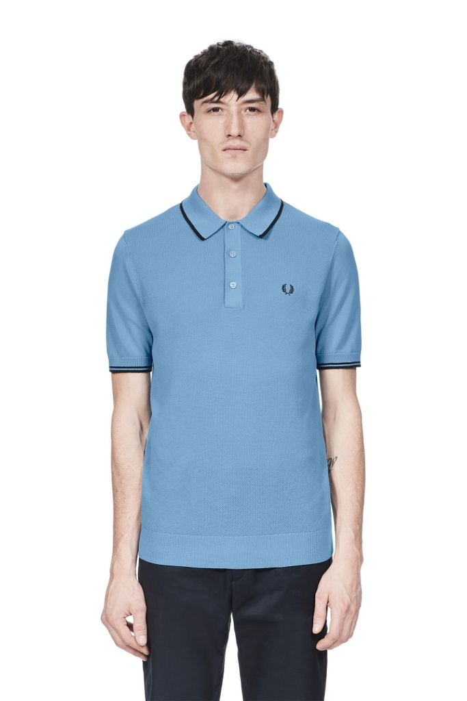 Fred Perry knitted shirt
