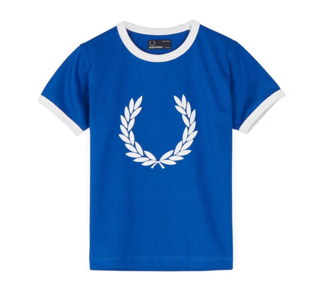 Kids Laurel ringer t-shirt