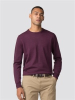 Merino Crew Neck Berry