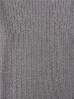 Mouline Crew Neck Light grey