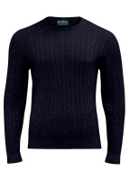 Honley Cable Dark Navy