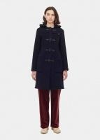 Women's Slim Fit Duffle Coat navy