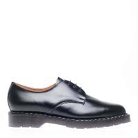 Black Hi Shine 3-Eyelet Gibson Shoe