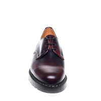 Burgundy Rub-Off 3-Eyelet Gibson