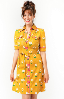 Dress Betsy Daisy Dot  gold