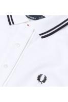 Oxford Trim Piqué Shirt white