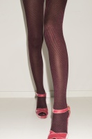 Glam - tights with chevron - fig