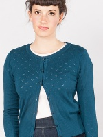 Lovelyn cardigan teal
