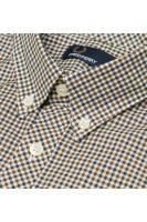 Three colour gingham shirt nettle