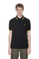 Twin tipped shirt black/yellow