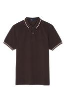 Twin tipped shirt Liquorice