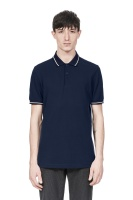 Twin tipped shirt Carbon blue