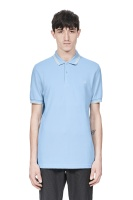 Twin tipped shirt Sky blue / ecru