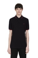 Twin tipped shirt Black/Crushed Berry