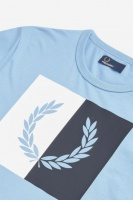 Split Laurel Wreath T-Shirt