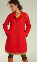 Betty Coat Biscuit red