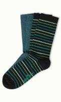 Socks 2-Pack Breton blue