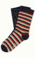 Socks 2-Pack Daydream blue