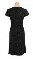 Cross dress little dots black