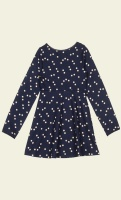 Skater dress star navy
