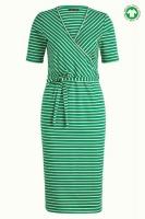 Anja Dress Breton Stripe Green
