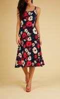 Viola Dress Shirley Poppy
