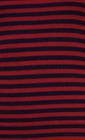 Lou Top Rib Stripe cherry