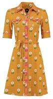 Dress Betsy Daisy Dot  gold