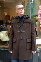 Duffle coat Morris herr brown