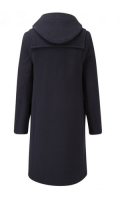 Duffle coat dam navy
