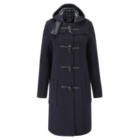 Duffle coat dam navy