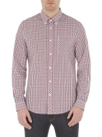 The house gingham shirt LS