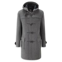 Morris dufflecoat grey