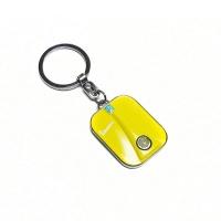 Vespa front nyckelring - gul