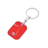 Vespa front nyckelring - röd