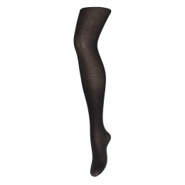 Glam - tights with chevron - black